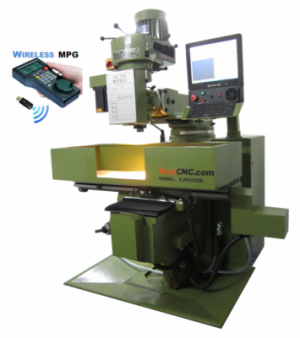 CNC Milling Machine CM1270 NCs with Wireless MPG