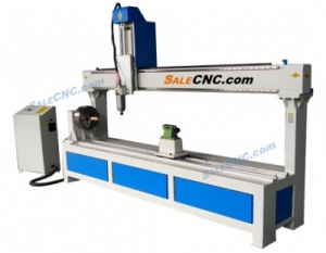 CNC Router Milling XJ1325-RX300, Rotary 300, Over Swing 600mm, Y