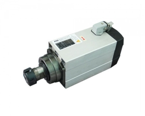 15 Square High Speed Spindle 4.5KW 24,000rpm Air,strong 4 bearings, ER32