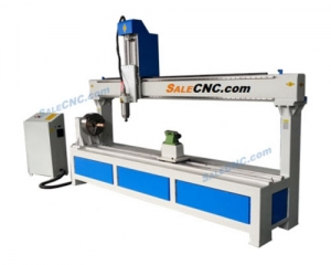 CNC Router Milling XJ1325-RX300, Rotary 300, Over Swing 600mm