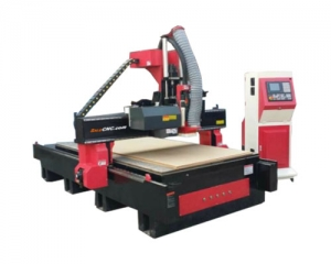 CNC Router Milling ZXR 8Tool Change