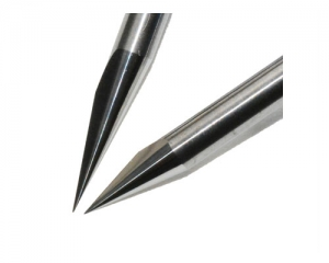 Flat bottom proflied cutting tool, Diameter 0.1-1.0mm, Angle 10°-90°