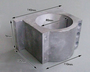 Spindle Clamp bracket 80mm