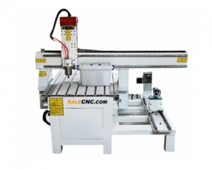 CNC Router Milling aXJ6090-LXR & Extended Rotary