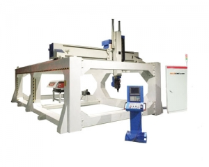 z 5 Axis CNC Router Milling 6000x3000mm, Japan Servo Motor